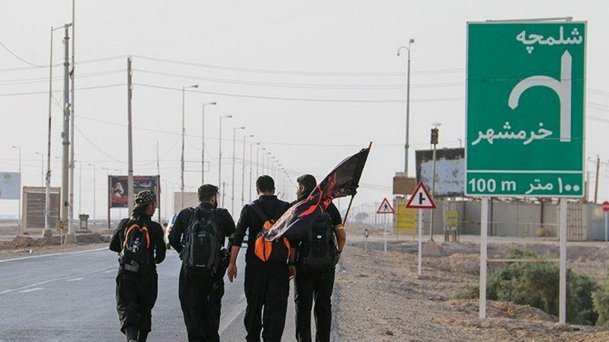 زائران ایرانی اربعین بهسوی مرز حرکت میکنند