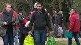 Nearly 2,000 migrants 'cleared from camp' in northern France