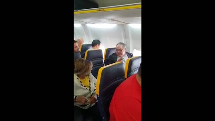 Ryanair racial hate crime man is identified by police