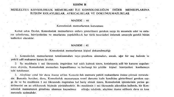 1963 tarihli Konsolosluk İlişkileri Hakkında Viyana Sözleşmesi