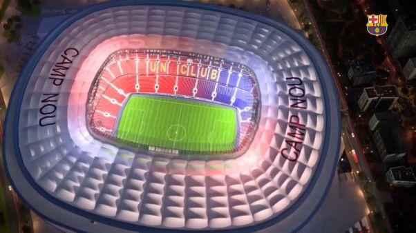 Barcelona: Kibővül a Camp Nou