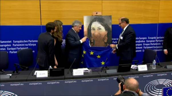 Daphne Caruana Galizia honoured in Strasbourg