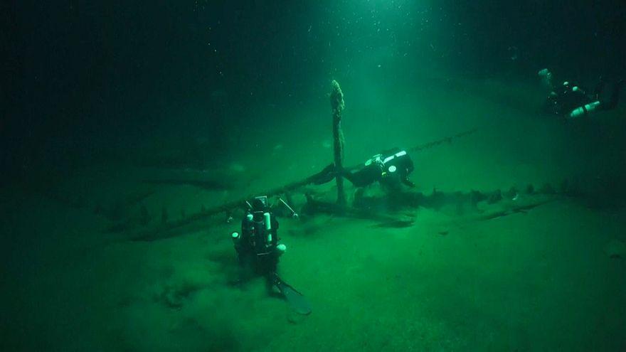In 2000 Metern Tiefe: Ältestes intaktes Schiffswrack der Welt