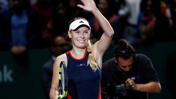 Masters de Singapour : la réaction de Wozniacki