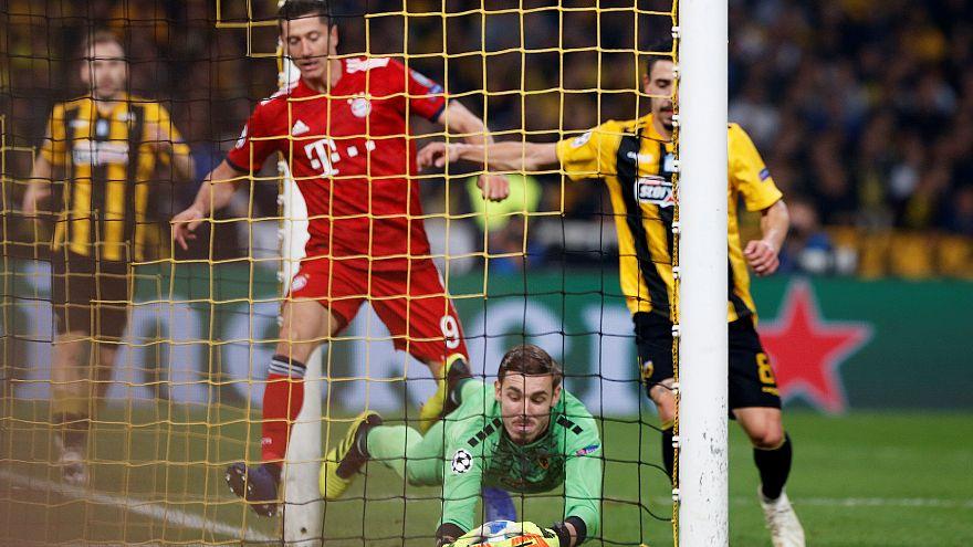 Τσάμπιονς Λιγκ: Η Μπάγερν επικράτησε της ΑΕΚ 2-0 στο ΟΑΚΑ