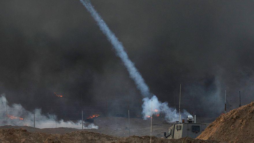هل تسبب البرق بهجوم صاروخي من غزة على إسرائيل؟