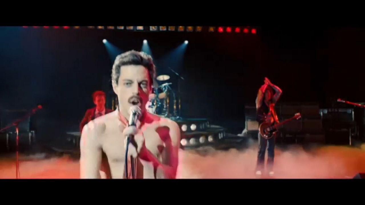 Freddie Mercury sur les écrans