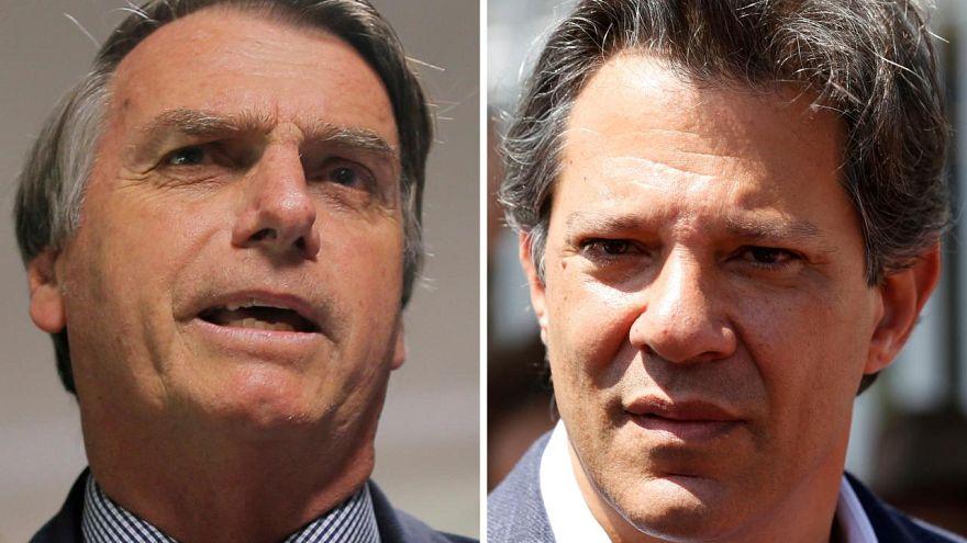 Haddad recorta distancia con Bolsonaro en el último sondeo antes de la segunda vuelta del domingo