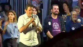 Brazil elnökválasztás: Haddad győzelmet vízionál