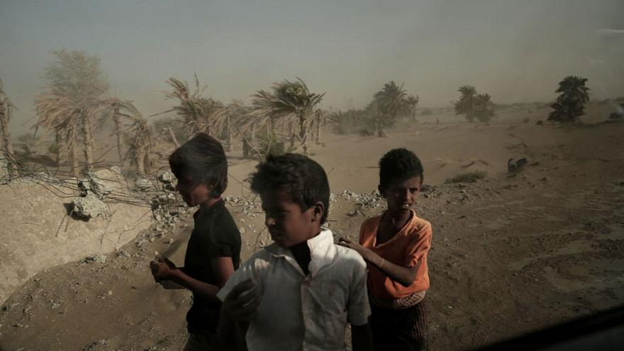 أطفال مشردون في اليمن