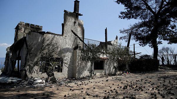 Incêndios na Grécia: a vila de Mati duas semanas depois da tragédia