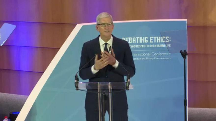"Apple CEO 'It's time to follow EU lead"" on data privacy"