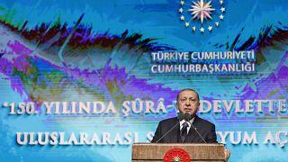 Erdoğan'dan Danıştay'a ant tepkisi: Yasa koyucu gibi hareket etmek doğru değil
