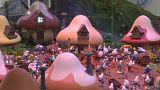 Festa de aniversário na aldeia dos Estrunfes