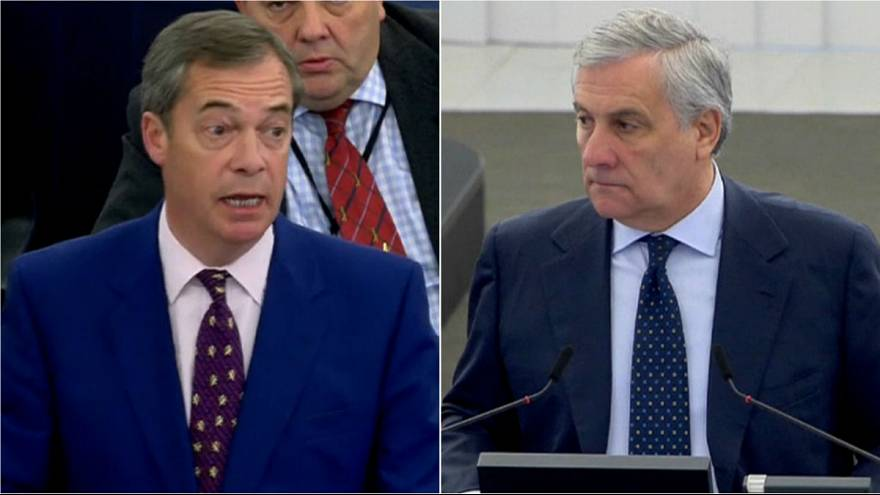 Watch: Nigel Farage scolded after mocking EU's role in defeating Nazis