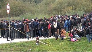 Migration: Rangeleien an der bosnisch-kroatischen Grenze