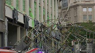 Dramatique accident d'échafaudage à Anvers