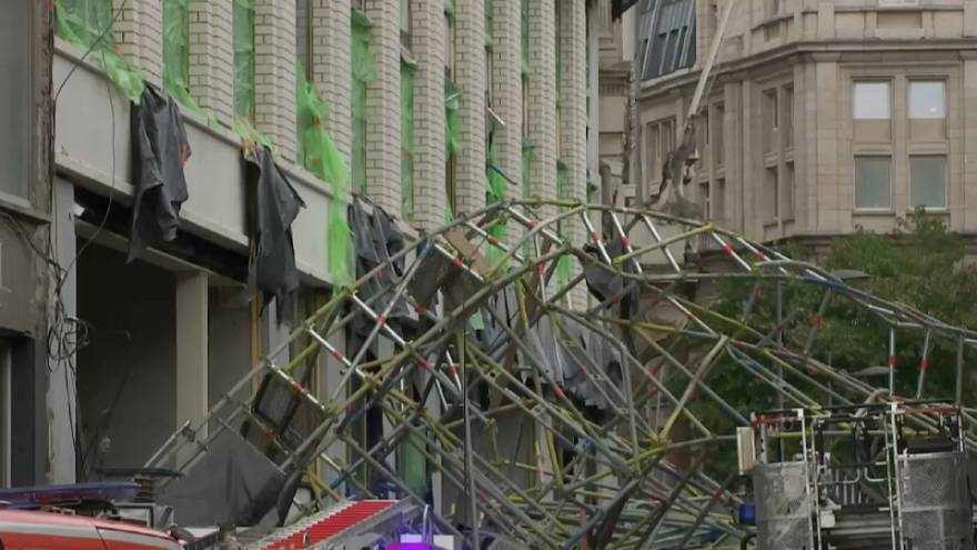 Dramatique accident d'échafaudage à Anvers
