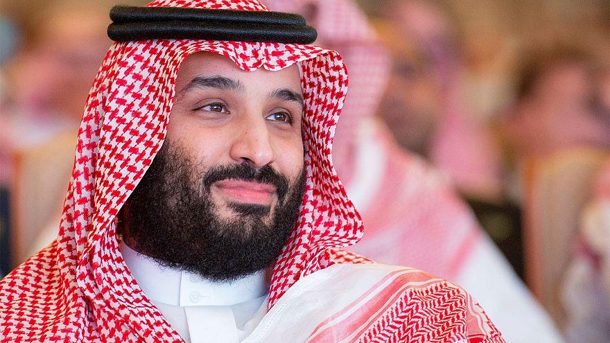 ولي العهد السعودي محمد بن سلمان في مؤتمر الاستثمار بالرياض 24.10.2018