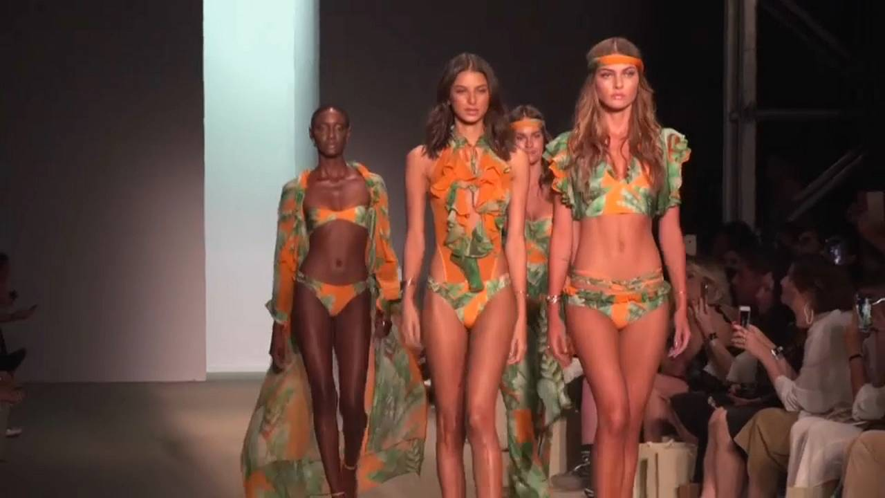 Flower Power auf der Sao Paulo Fashion Week
