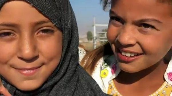 Os refugiados sírios do vale do Beca