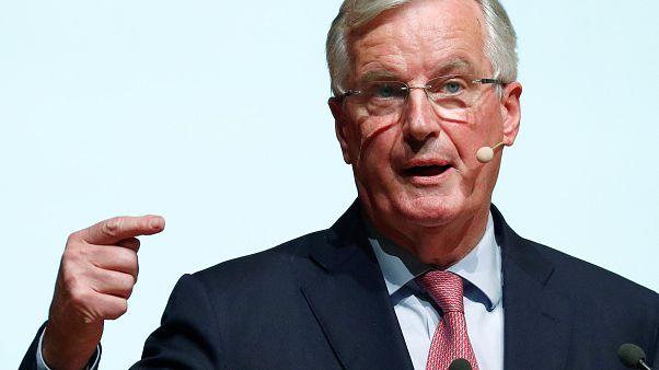 """Michel Barnier: """"nova"""" proposta de solução para a fronteira irlandesa"""