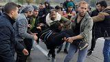 Беженцы отчаянно рвутся в Хорватию