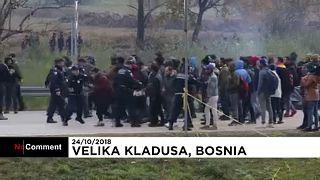 Bosnie : échauffourées entre migrants et police