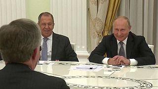 """Putin macht sich über USA lustig: """"Hat der Adler alle Oliven aufgegessen?"""" (Video)"""