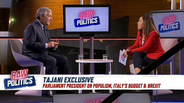 Antonio Tajani on Raw Politics