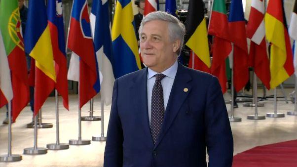 "Tajani: ""No estoy de acuerdo con Italia ni con la Comisión Europea"""