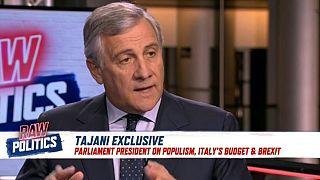 Raw Politics: Exclusive interview with Tajani, plastic ban debate