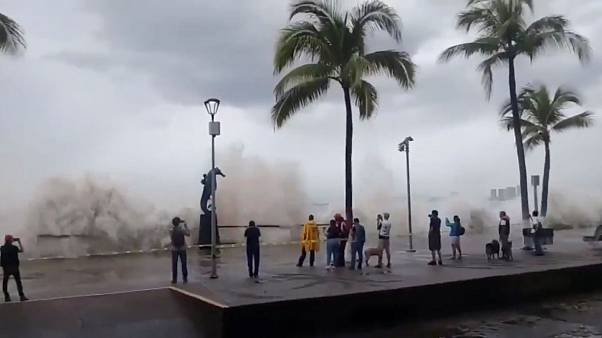 Hurricane Willa rips through Mexico's Pacific Coast