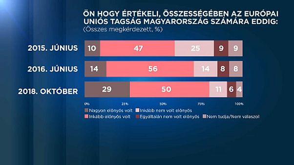 Publicus: nőtt az EU támogatottsága Magyarországon