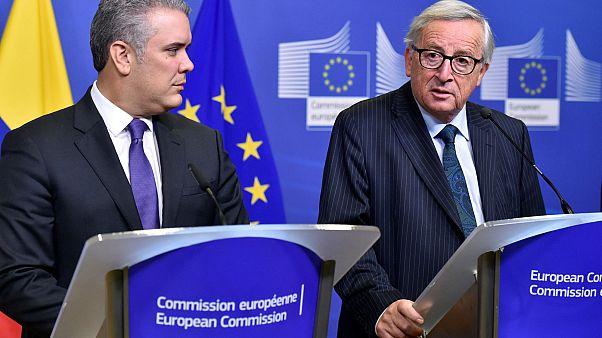 Juncker: Maduro uluslararası hukukun karşısına çıkarılmalı