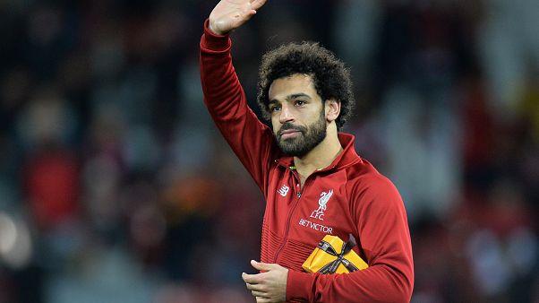 صلاح لاعب ليفربول عقب المباراة أمام رد ستار بدوري أبطال اوروبا 24-10-2018