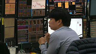 Bolsas asiáticas no vermelho afetam Europa