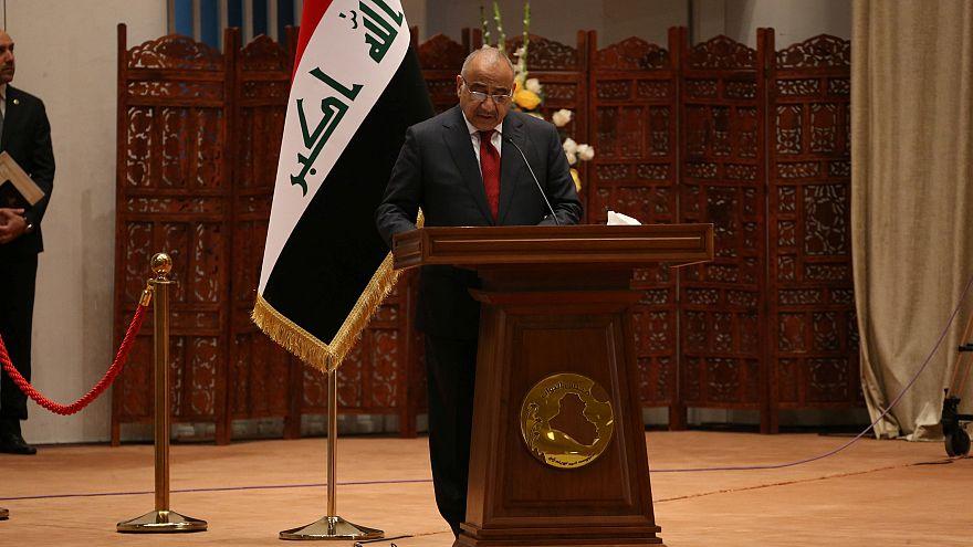 عادل عبد المهدي يؤدي اليمين الدستورية رئيساً لوزراء العراق