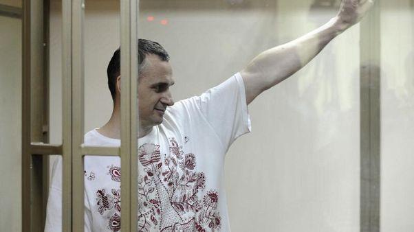 Jailed Ukrainian filmmaker Oleg Sentsov wins EU prize
