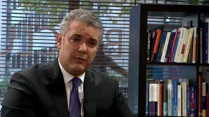 """Iván Duque: """"Internationale Gemeinschaft muss Maduro zwingen, die Macht abzugeben"""""""