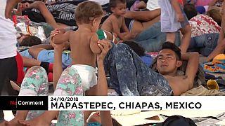 Nuit à Mapastapec pour ces migrants d'Amérique centrale