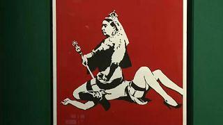 Nem volt botrány Banksy műveinek árverésén