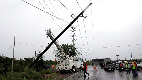 Aufräumen nach Hurrikan Willa