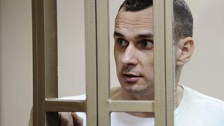 Ukrainian filmmaker Oleg Sentsov wins 2018 Sakharov Prize