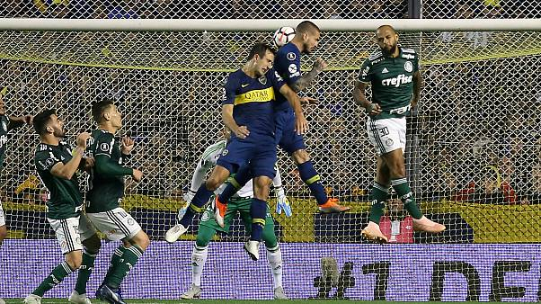 El Boca Juniors gana al Palmeiras y pone un pie en la final de la Copa Libertadores