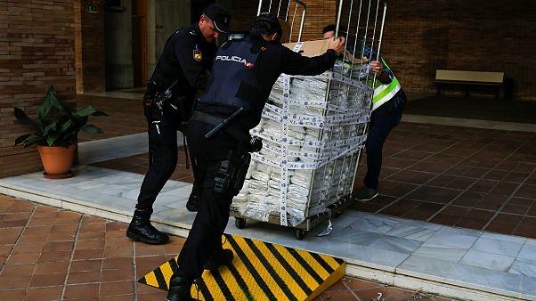 اسپانیا؛ کشف شش تن کوکائین در میان خوشه های موز
