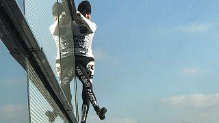 Alain Robert, l'homme-araignée retrouve Londres