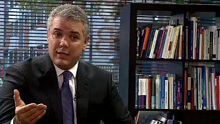 """EXCLUSIVA - Presidente colombiano Iván Duque: Tolerancia cero con """"dictadura venezolana"""""""
