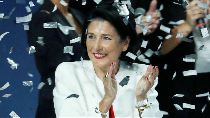 سفیر پیشین فرانسه پیشتاز در رقابت انتخابات ریاست جمهوری گرجستان