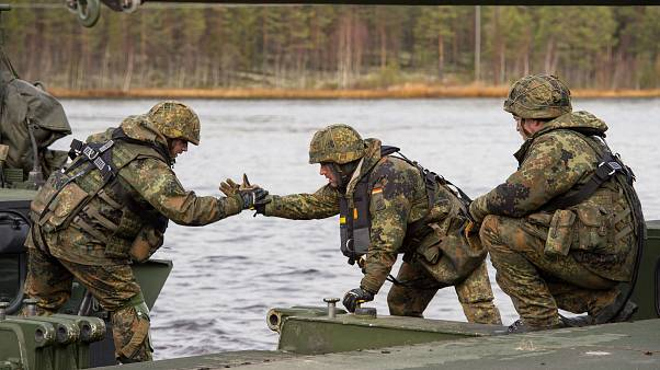 NATO mostra músculos no norte da Europa